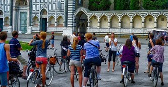 Tour in bici per le strade di Firenze in Florence