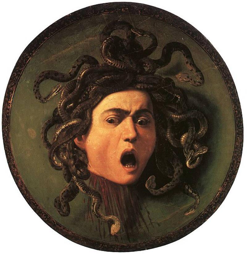 Medusa - It painting